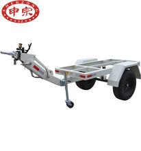 申宗發電機組拖車 底盤小拖車 1.5T蛇形牽引骨架小拖車