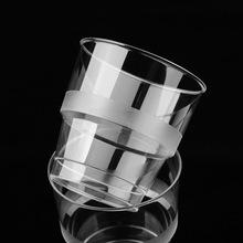 Wo Teng cốc hàng không trực tiếp 250ml tùy biến Wal-Mart cùng một đoạn dày trong suốt nhựa cốc dùng một lần uống chén Cốc dùng một lần
