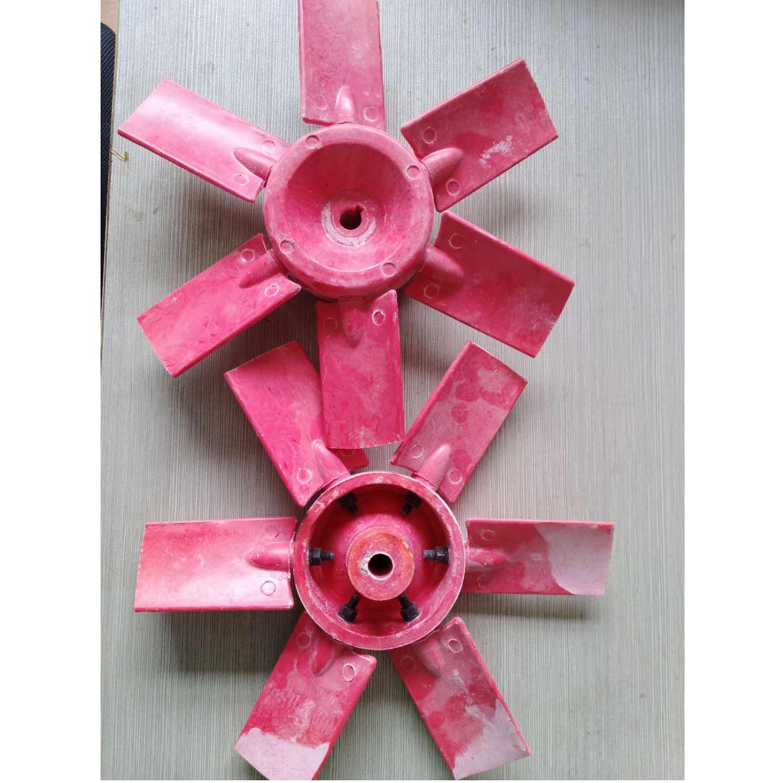 耐酸碱风机 定制玻璃钢叶轮 衬胶衬塑叶轮