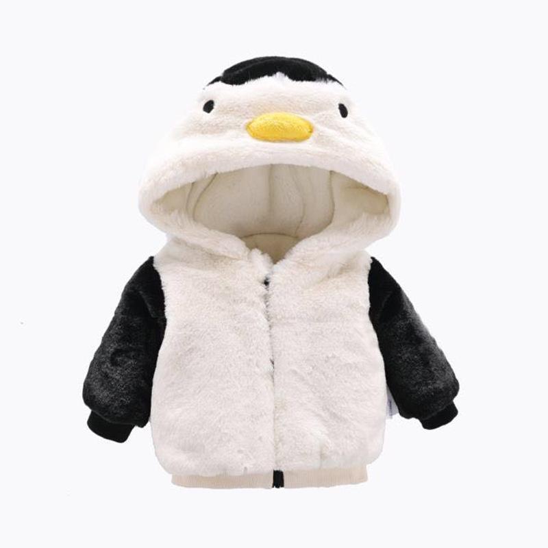 男女宝宝冬装棉衣外套一周岁半婴儿女童冬季棉服棉袄 加厚0-1-2岁