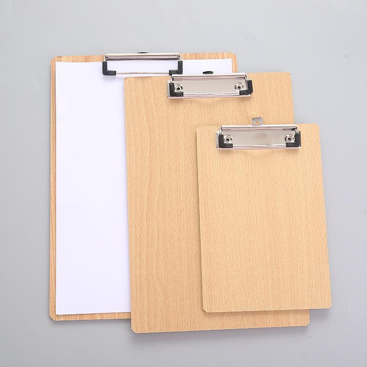 Thư mục phẳng thư mục gỗ doanh nghiệp văn phòng bảng thư mục A416K32K ván MDF với móc viết