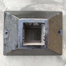 铁皮护栏底座镀锌钢填充护栏隔离墩