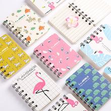 韩国创意小清新可爱A7口袋小线圈本便携笔记本学生用便签小本子