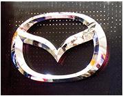 汽车标识不锈钢三维车标发光4S店门头汽车标志汽车logo标志制