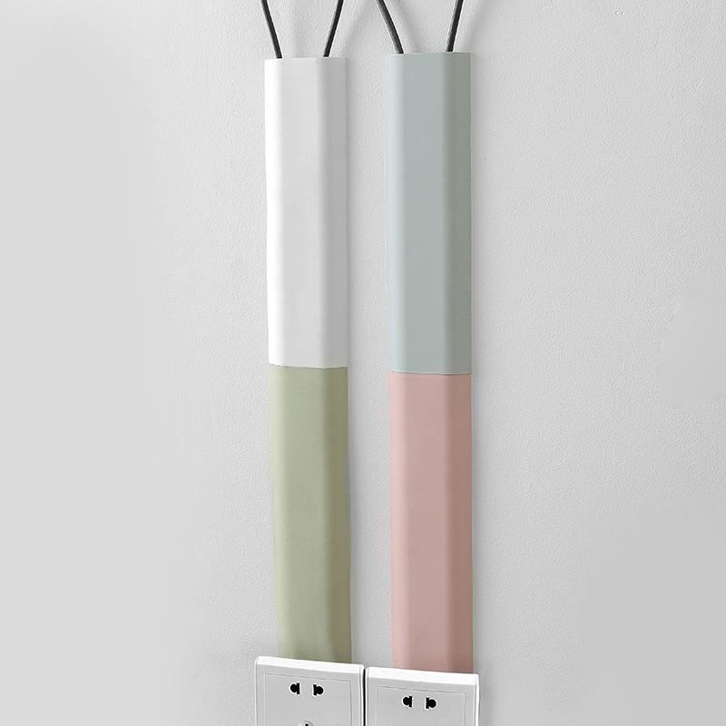1962网线收纳管电脑线固定夹理线器 自粘墙面电线束线管固线夹