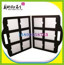 石塑地板 色卡定做 手提油漆木地板样册 陶瓷样品盒 橱柜样板册