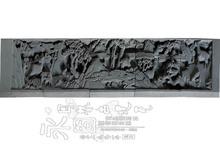 【古建材料 厂家直销】砖雕:十鹿图 门楼设计 高雅醒目