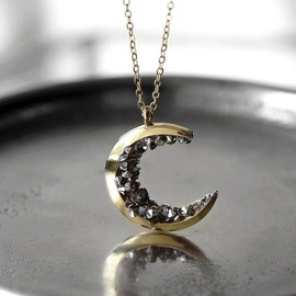 ROMAD Europe and the United States retro explosion models moon-type sticky ore necklace Fashion fashion ladies accessories