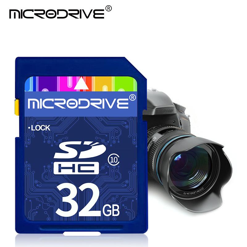 SD大卡8G/16G内存卡 CLASS 10 高速32G 相机卡SD 数码相机存储卡