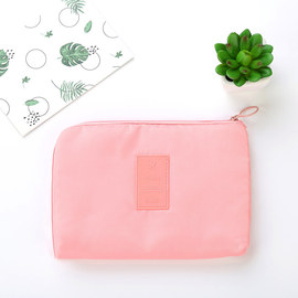 New twill Oxford cloth digital package data cable charging treasure storage bag shockproof classification travel storage bag