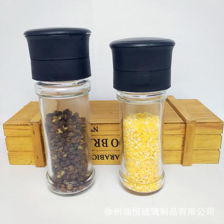 Mini thủ công gốm máy xay muối hạt tiêu xay nghiền jar nguồn cung cấp bếp Chai mới Gia vị