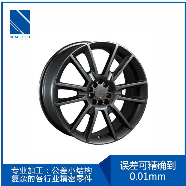 德国进口德玛吉五轴CNC加工精密汽车零配件不锈钢轴加工工厂定制