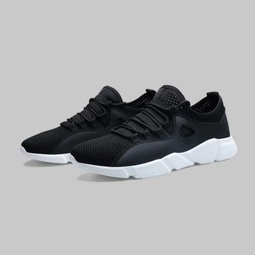 Giày thể thao nam mùa hè lưới thoáng khí giày thường xu hướng mới thương mại nước ngoài giày fly-dệt sinh viên giày chạy