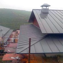 别墅屋面厂家直销抗台风 25-430铝镁锰矮立双锁边金属屋面系统
