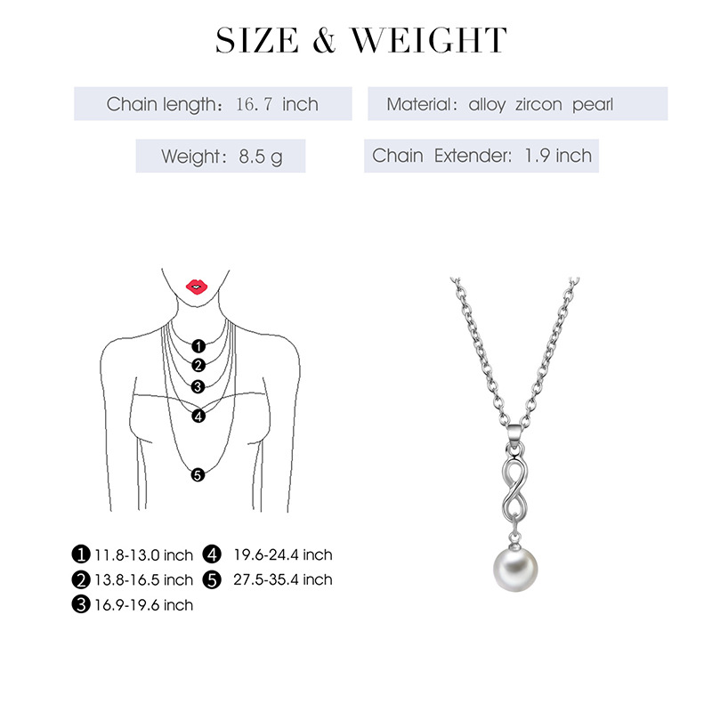 Alloy Simple  necklace  61172540A alloy NHXS168361172540Aalloy