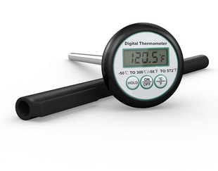 Barbecue Probe Thermometer Kitchen Food Thermometer Disc Electronic Thermometer