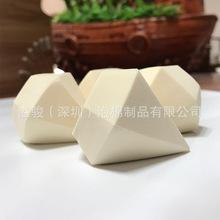 深圳厂家直销 亲水性聚氨酯钻石型多色粉扑