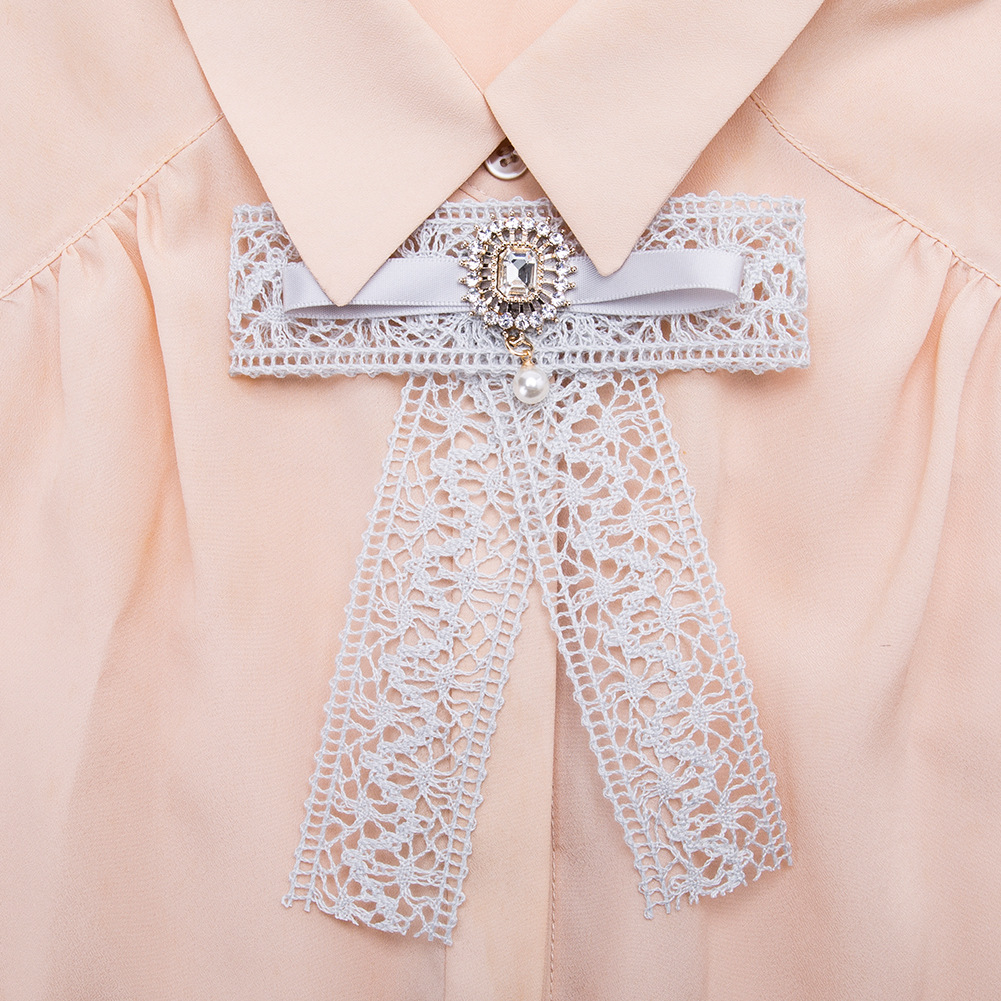 Alloy Fashion Bows brooch NHJE0978-red