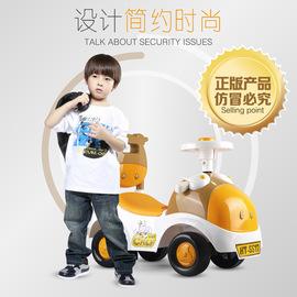 Hengtai baby twisting car with music steering wheel swing car baby four-wheel taxiing toy walker