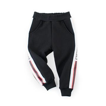 韩版童装童裤儿童秋装 男童卫衣抓绒中小童运动裤ins爆款一件代发