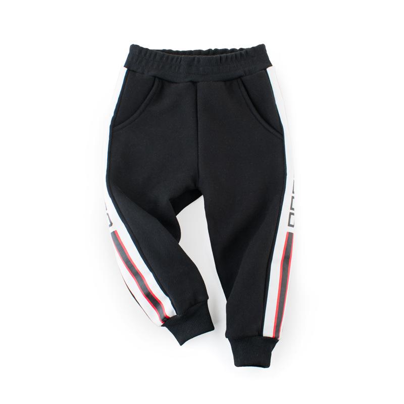 韩版童装童裤儿童秋装男童卫裤抓绒中小童运动裤一件代发厂家直销