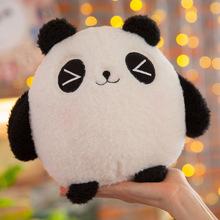 新款竹炭熊猫公仔 毛绒玩具熊猫抱枕儿童节玩偶生日礼品厂家批发
