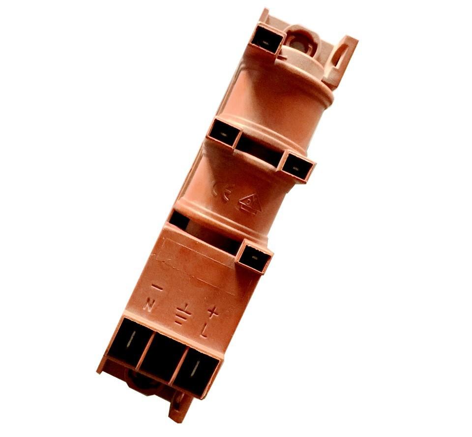 四口220~240V交流脉冲点火器 煤气灶热水器专用内嵌点火配件