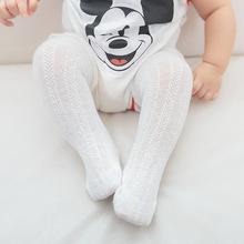 夏季网眼薄棉透气宝宝袜子女童长筒婴儿袜防蚊儿童高筒0-1-3岁