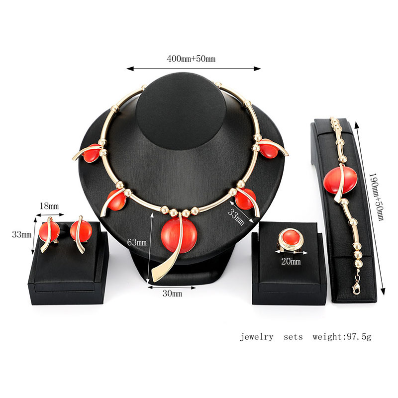Alloy Simple  necklace  61174429 NHXS169161174429