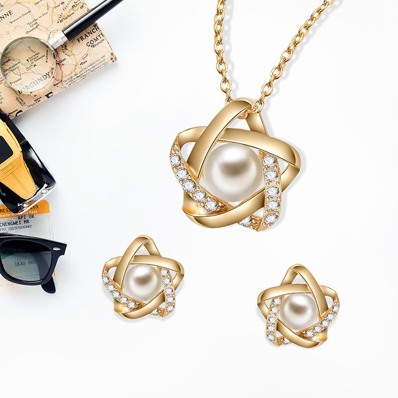 Alloy Simple  necklace  (61172548) NHXS1705-61172548