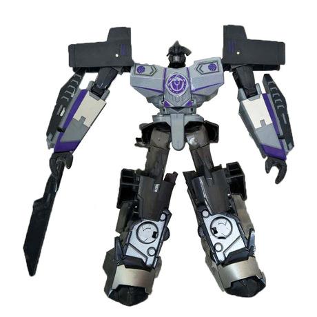 Wei sẽ là vua ong biến dạng đồ chơi kim cương ong bắp cày L-class phiên bản hoạt hình hợp kim thách thức 8018ABCDEFG Mô hình robot