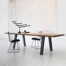 简约实木办公桌 公司多人培训会议桌大型洽谈办公室长条桌子批发