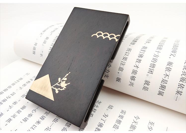 外事礼品定制名片盒