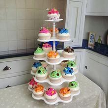 批发五层蛋糕架 cupcake stand纸杯蛋糕展示架甜品摆件多种甜点架