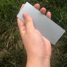 現貨超大長方形鐵片 能吸磁鐵無磁性鐵條 長條鐵片120*45*0.5毫米