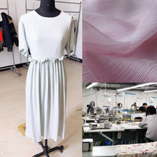 Strength-Striped Dress Women Clothing Processing Factory to Map Sample OEM Custom