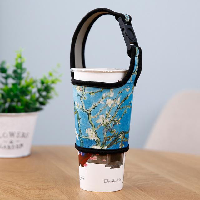 bộ tách Neoprene của bộ tay uống trà bộ 700C cốc 500C vải ly che chống nóng cốc tay Bộ cốc
