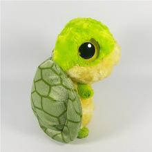 工厂订做卡通大眼睛乌龟毛绒公仔可站姿小海龟儿童玩具促销礼品