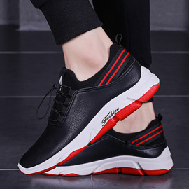 Autumn one foot PU casual sports shoes fashion trend shoes