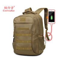 На открытом воздухе пакет Военный вентилятор большой емкости USB многофункциональное плечо пакет Coolwalker облегченный альпинизм назад пакет тактический пакет