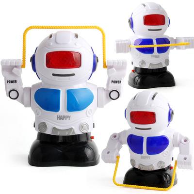 New điện nhảy Robot đèn điện và âm thanh đồ chơi giáo dục gian hàng bán sản phẩm cho trẻ em