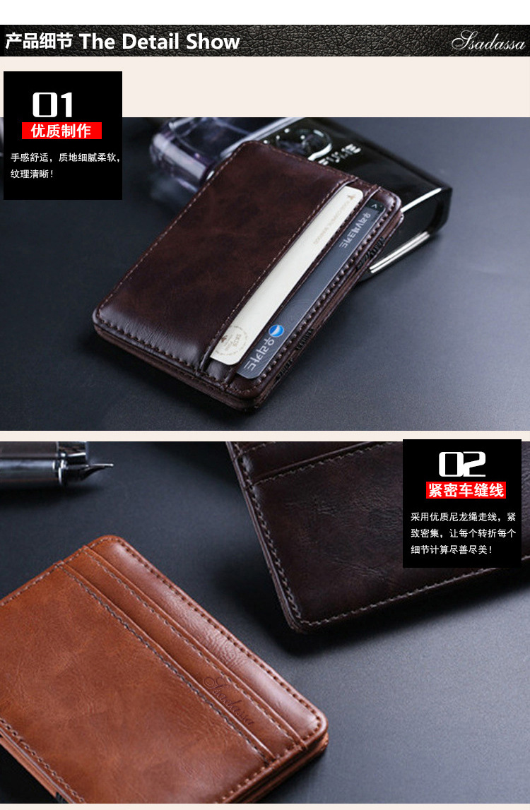 magic bag creative wallet coin purse new wallet ticket holder wholesale nihaojewelry NHBN226156