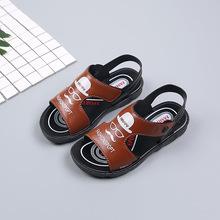童鞋2019夏季新款儿童凉鞋 韩版防滑中大童学生男童塑料沙滩鞋