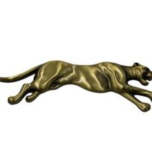 豹子外形合金標牌 定做LOGO圖案金屬工藝標牌 凹凸感圖案金屬標牌