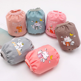 Autumn and winter new children's cuff waterproof cartoon pattern elastic loose tight cuff baby anti-staining anti-dirty sleeves