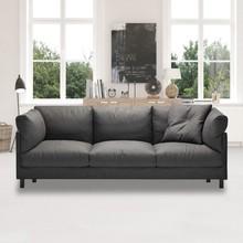 北欧家居简约现代布艺乳胶迷你小户型客厅懒人沙发羽绒位组合家具
