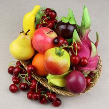仿真水果 模型假水果仿真蔬菜道具葡萄香蕉 苹果饭店装饰学校教具