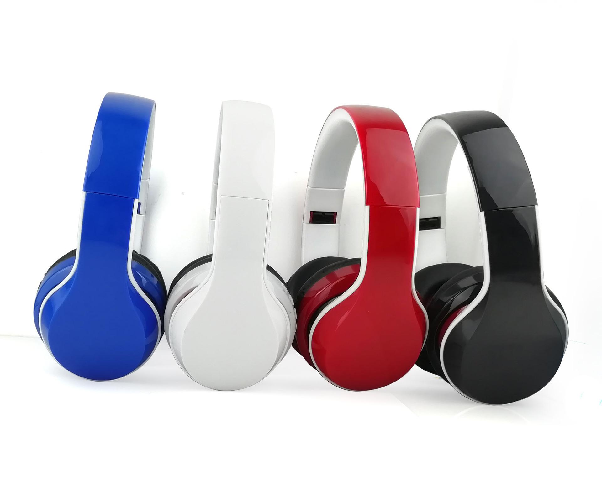 2018新款私模休闲舒适头戴式蓝牙耳机 调频音频插卡Bluetooth耳机
