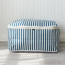 大号棉麻收纳袋 衣物整理箱  棉被收纳袋 储物袋 搬家袋 0679A