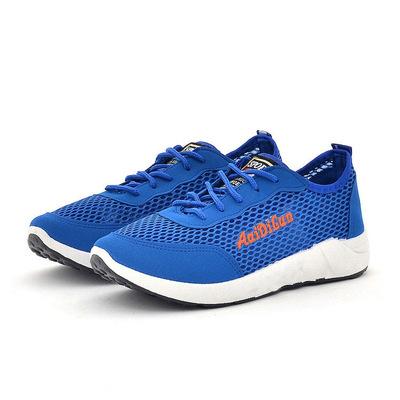 Mùa hè thể thao gió giày thường lưới thoáng khí giày 2018 new lưới của nam giới giày chạy một thế hệ của tóc